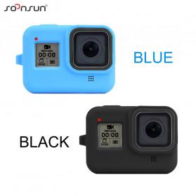SOONSUN Silicone Protective Case Bumper for GoPro Hero 8 - SON-801 - Black - 2