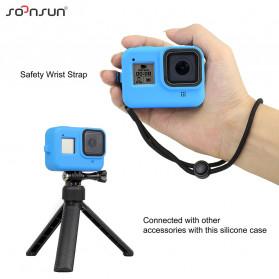 SOONSUN Silicone Protective Case Bumper for GoPro Hero 8 - SON-801 - Black - 3