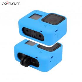 SOONSUN Silicone Protective Case Bumper for GoPro Hero 8 - SON-801 - Black - 6