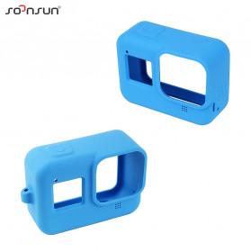 SOONSUN Silicone Protective Case Bumper for GoPro Hero 8 - SON-801 - Black - 7