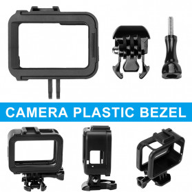 Centechia Frame Housing Case Bumper for GoPro Hero 8 - CH-801 - Black - 7
