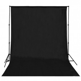 Backdrop Studio Fotografi 280 x 280 cm - S-1104 - Black