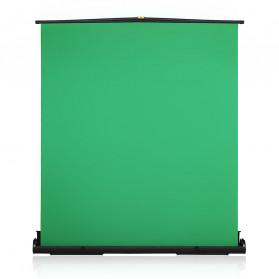 Horusbennu Backdrop Studio Fotografi Collapsible Pull Up Green Screen 152x197CM - 10093773 - Green