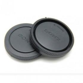 Penutup Body Lensa Kamera Sony DSLR NEX-A7 A7M2 A7S A7R a5000 a6000 (With Logo) - Black