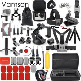 Vamson Aksesoris Kamera Aksi Full Set GoPro Xiaomi Yi - VS77C