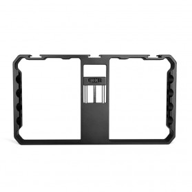 Tripod Monopod - U-Rig Smartphone Handheld Rig Stabilizer Cage Aluminium - PC06 - Black
