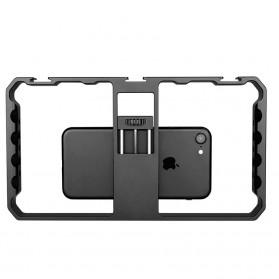 U-Rig Smartphone Handheld Rig Stabilizer Cage Aluminium - PC06 - Black - 2