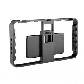 U-Rig Smartphone Handheld Rig Stabilizer Cage Aluminium - PC06 - Black - 3