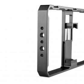 U-Rig Smartphone Handheld Rig Stabilizer Cage Aluminium - PC06 - Black - 4