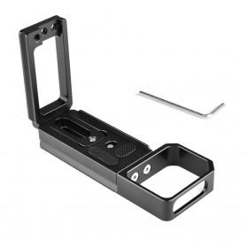 L-Shape Stabilizer Cage Kamera DSLR Sony A7 A9 - CL6 - Black
