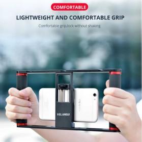 Tripod Monopod - U-Rig Smartphone Handheld Rig Stabilizer Cage Aluminium - PC05 - Black