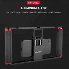 U-Rig Smartphone Handheld Rig Stabilizer Cage Aluminium - PC05 - Black - 2