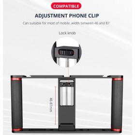 U-Rig Smartphone Handheld Rig Stabilizer Cage Aluminium - PC05 - Black - 3