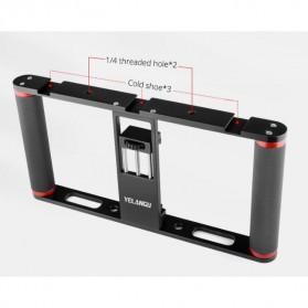 U-Rig Smartphone Handheld Rig Stabilizer Cage Aluminium - PC05 - Black - 4