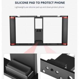 U-Rig Smartphone Handheld Rig Stabilizer Cage Aluminium - PC05 - Black - 7