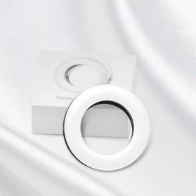 SZKOSTON Lampu Halo Ring Light LED Selfie Smartphone Clip 40 LED - XJ-19 - White - 7