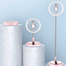 Jinyufeng Lampu Halo Ring Light LED Kamera Wired 336 LED 29cm with 1xSmartphone Holder - Y2 - Black - 4