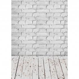 ALLOYSEED Backdrop Studio Fotografi Background Cloth 150 x 200 cm - C-759 - White