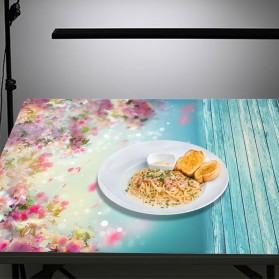 ALLOYSEED Backdrop Studio Fotografi Background Cloth 150x200CM - C-759 - White - 7