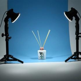 SH Lampu Portable Photo Studio 12W 5500K with Light Stand 37cm - PSX-51 - Black - 2