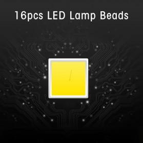 SH Lampu Portable Photo Studio 12W 5500K with Light Stand 37cm - PSX-51 - Black - 7