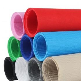 SH Kain Backdrop Studio Fotografi Non-Woven Textile 140 x 200 cm - SH-BJB-01 - Black - 4