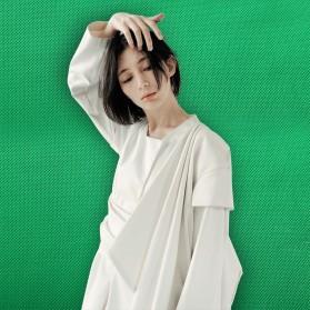 SH Kain Backdrop Studio Fotografi Non-Woven Textile 140 x 200 cm - SH-BJB-01 - White - 7