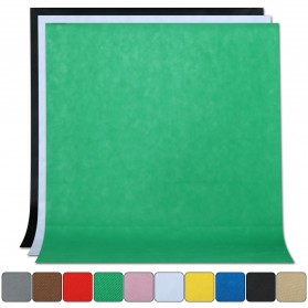 SH Kain Backdrop Studio Fotografi Non-Woven Textile 140 x 200 cm - SH-BJB-01 - Green - 2
