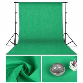 SH Kain Backdrop Studio Fotografi Non-Woven Textile 140 x 200 cm - SH-BJB-01 - Green - 4