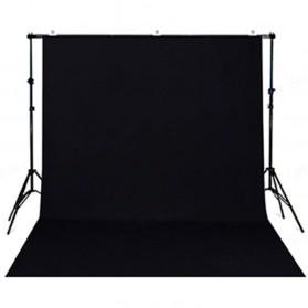 SH Kain Backdrop Studio Fotografi Non-Woven Textile 150 x 280 cm - SH-BJB-02 - Black