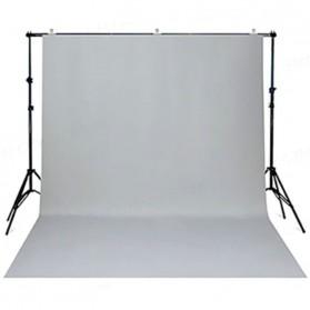 SH Kain Backdrop Studio Fotografi Non-Woven Textile 150 x 280 cm - SH-BJB-02 - White