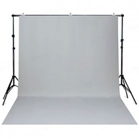 SH Kain Backdrop Studio Fotografi Non-Woven Textile 200 x 280 cm - SH-BJB-03 - White