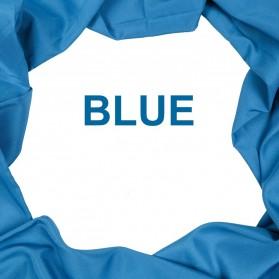Ambitful Kain Backdrop Studio Fotografi Cotton Textile Muslin Cloth 150 x 200 cm - B29 - Blue