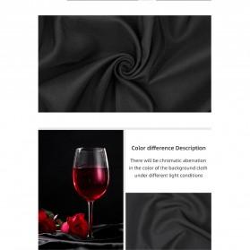 Ambitful Kain Backdrop Studio Fotografi Cotton Textile Muslin Cloth 200 x 200 cm - B29 - Red - 5