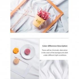 Ambitful Kain Backdrop Studio Fotografi Cotton Textile Muslin Cloth 200 x 200 cm - B29 - Red - 9