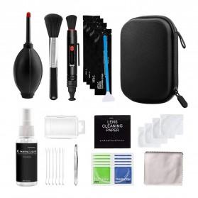 MagiDeal Set Pembersih Kamera Camera Cleaning Kit 13 in 1 - 13564 - Black