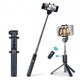 APEXEL Tongsis Tripod dengan Bluetooth Shutter Rechargerable - APL-D3 - Black