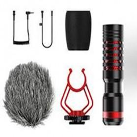 APEXEL Shotgun Microphone for Smartphone & DSLR - APL-MIC01 - Black - 4
