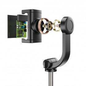 APEXEL Tongsis Selfie Tripod Mini dengan Gimbal Stabilizer Bluetooth Shutter - APL-D6 - Black - 3