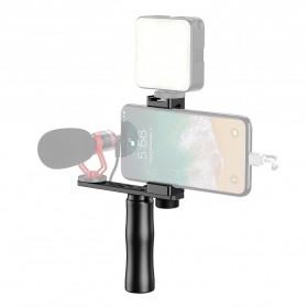 APEXEL Smartphone Video Rig Clamp Handheld Rig Stabilizer - APL-VG01 - Black
