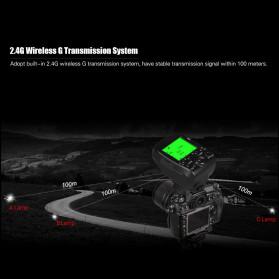 TRIOPO Wireless Flash Trigger Dual TTL WIdescreen LCD 1/8000s HSS - G1 - Black - 10