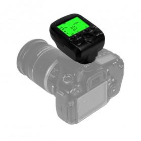 TRIOPO Wireless Flash Trigger Dual TTL WIdescreen LCD 1/8000s HSS - G1 - Black - 2