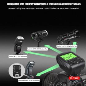TRIOPO Wireless Flash Trigger Dual TTL WIdescreen LCD 1/8000s HSS - G1 - Black - 4
