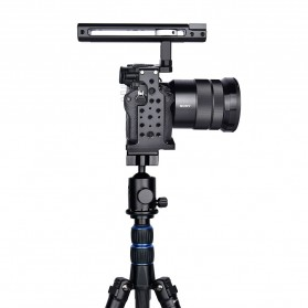 YELANGU Camera Cage Rig Handle Stabilizer Kit for Sony A7 A7K A72 A73 A7S2 A7R2 A7R3 A7X - CA7 - Black - 3