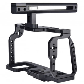 YELANGU Camera Cage Rig Stabilizer Kit with Handle for BMPCC 4K - C9 - Black