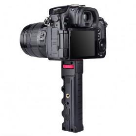 YELANGU U-Rig Smartphone Handheld Rig Stabilizer with Hot Shoe Handle - PC02 - Black - 10