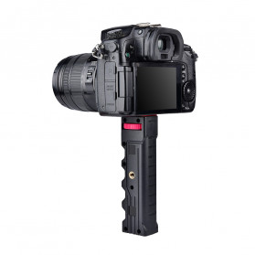 YELANGU U-Rig Smartphone Handheld Rig Stabilizer with Hot Shoe Handle - PC02 - Black - 3