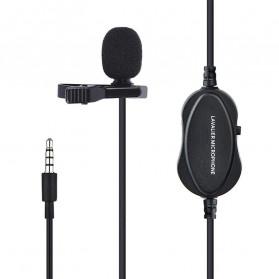 YELANGU Professional Recording Lavalier Video Microphone Clip 3.5mm - MY2 - Black - 7