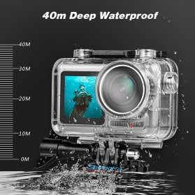 Sheingka Underwater Waterproof Housing Case for DJI Osmo Action - FLW306 - Black - 2