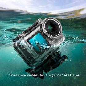 Sheingka Underwater Waterproof Housing Case for DJI Osmo Action - FLW306 - Black - 3